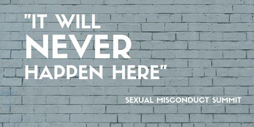 Sexual Misconduct Summit