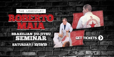 Roberto Maia BJJ Seminar tickets