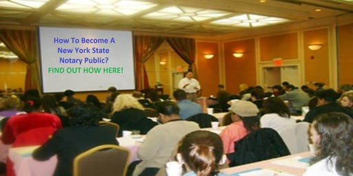 Westchester/White Plains - Become A N.Y.S. Notary Public - Exam Prep 5 hrs.