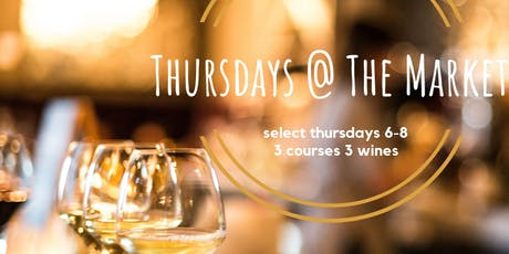 Thursday 3 Course Dinner with Central Wine tickets