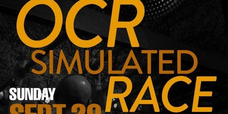 OCR Simulated Race 29th Sept 2019 tickets