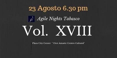Agile Nights Vol XVIII entradas