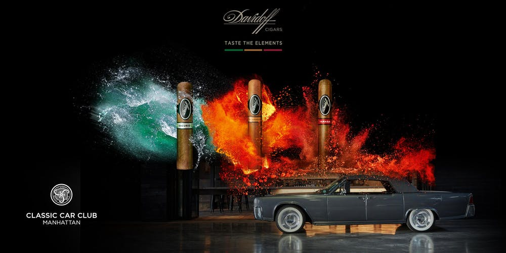 Davidoff Cigars Taste the Elements Event