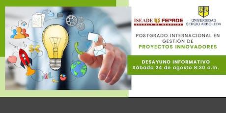 Postgrado Internacional en Gestión de Proyectos Innovadores entradas