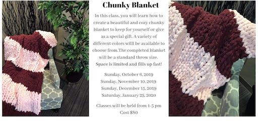 Chunky Blanket - December