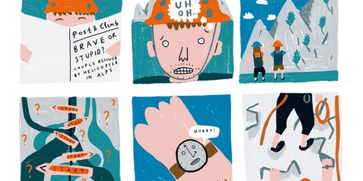 Illustration Workshop (Run Wild magazine launch) - Stockport