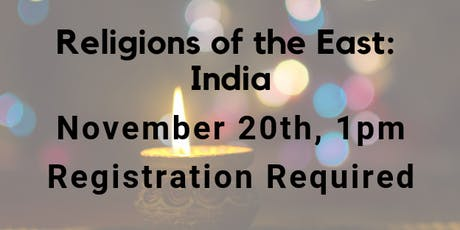 Religions of the East: India tickets