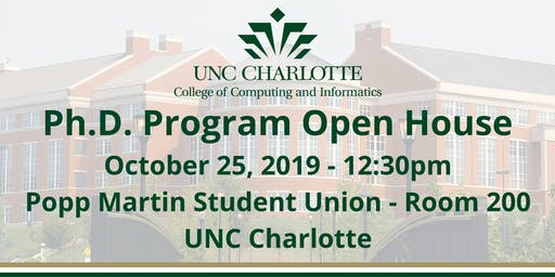 2019 CCI Ph.D. Open House