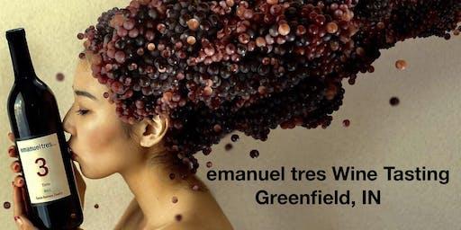 Emanuel Tres Wine Tasting