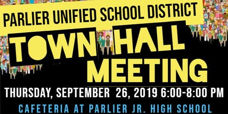 Parlier Town Hall Meeting tickets