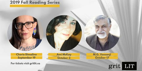 gritLIT Fall Reading Series: M.G. Vassanji tickets