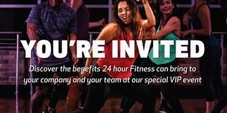 24 Hour Fitness Piscataway VIP Sneak Peek tickets