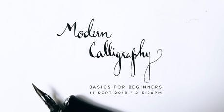 Modern Calligraphy Basics for Beginners tickets