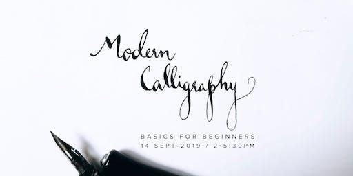 Modern Calligraphy Basics for Beginners
