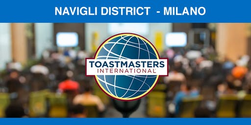 Public speaking joint meeting Milliners and Navigli District Toastmasters