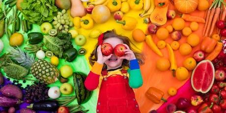 Curso: Educação Alimentar Infantil e Rotina Familiar ingressos