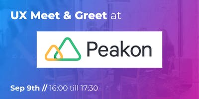UX Meet & Greet at Peakon
