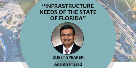 "ASHE Tampa Bay: ""Infrastructure Needs of The State of Florida"" tickets"