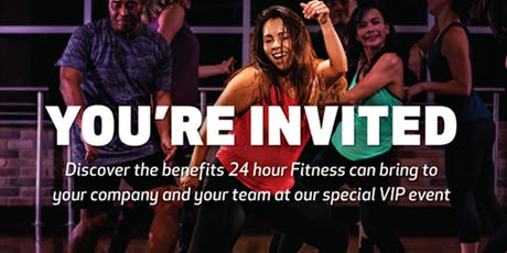 24 Hour Fitness Spring Energy VIP Sneak Peek tickets