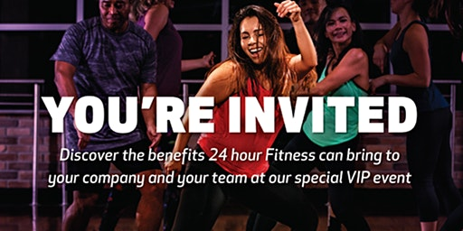24 Hour Fitness Spring Energy VIP Sneak Peek