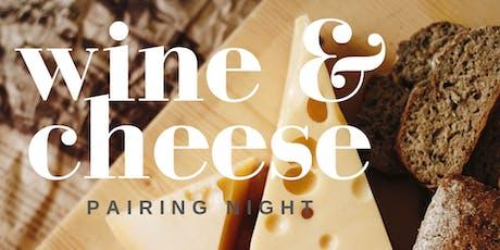 Wine & Cheese Pairing Night tickets