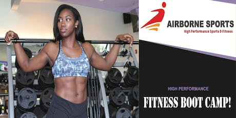Airborne Sports: Built by Olympians Boot Camp tickets