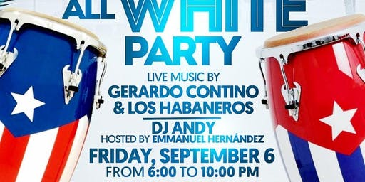 "Salsa en el Barrio ""All White Party"""