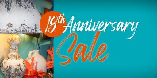 18th Anniversary Sale