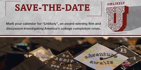 Unlikely - documentary screening tickets