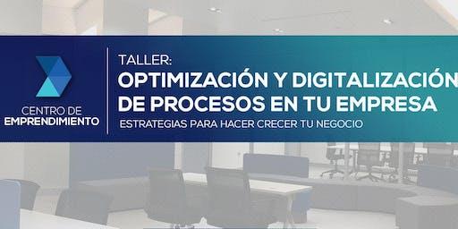 Optimización y Digitalización de Procesos en tu Empresa| PR Emprende