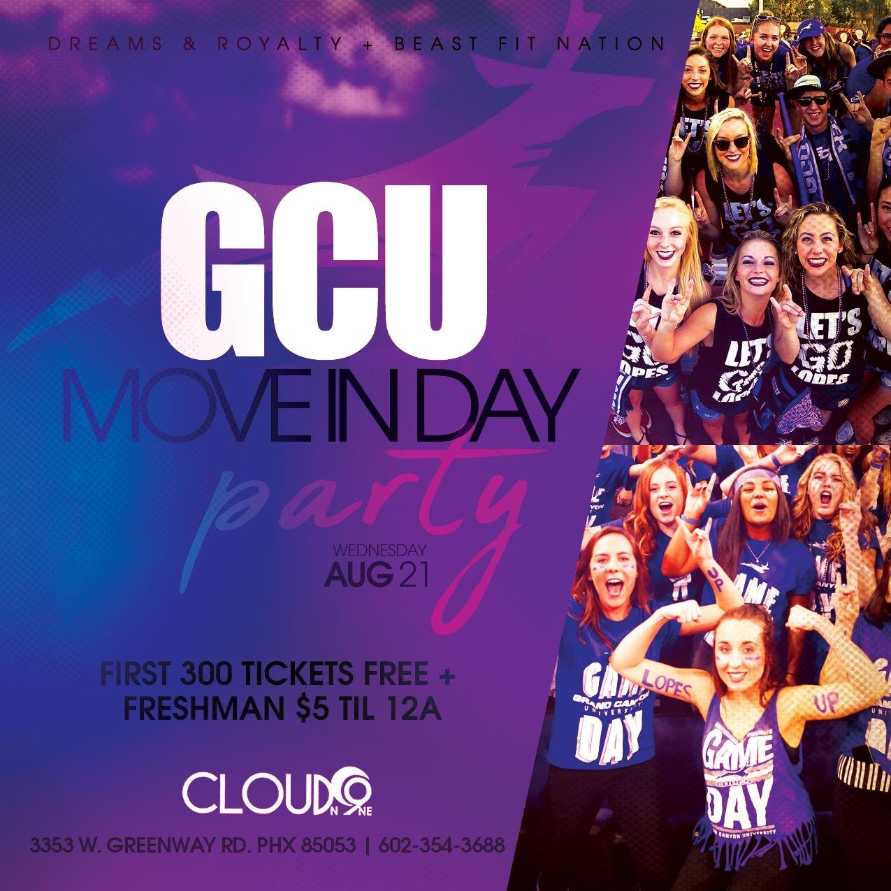 Welcome party for GCU