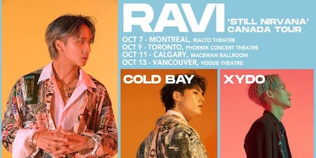 RAVI - STILL NIRVANA (Montréal) tickets