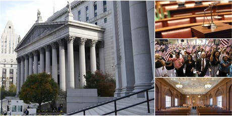 Inside the Local & Federal Courts of NYC with Former Court Stenographer tickets