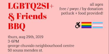LGBTQ2SI+ and Friends Summer BBQ tickets