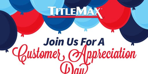 Community Appreciation Day at TitleMax Walterboro, SC