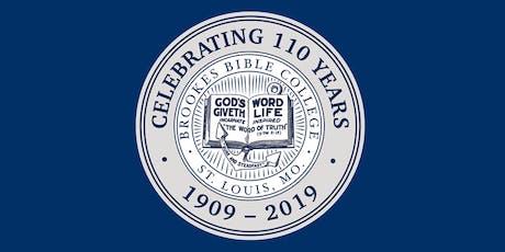 110th Anniversary Dinner tickets
