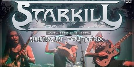 Starkill / Seven Days Lost / The Panoramic / Drumatrix tickets