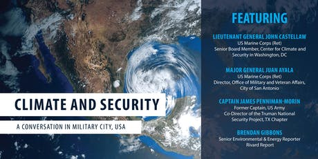 Climate & Security - A Conversation in Military City, USA tickets