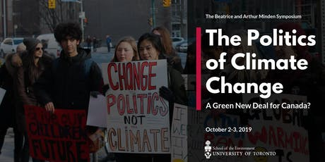 The Politics of Climate Change: A Green New Deal for Canada? tickets