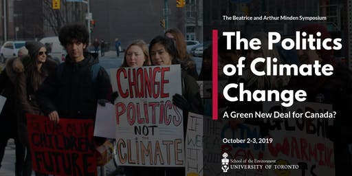 The Politics of Climate Change: A Green New Deal for Canada?