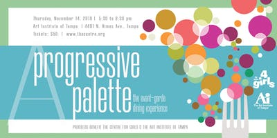 A Progressive Palette - the avant-garde dining experience