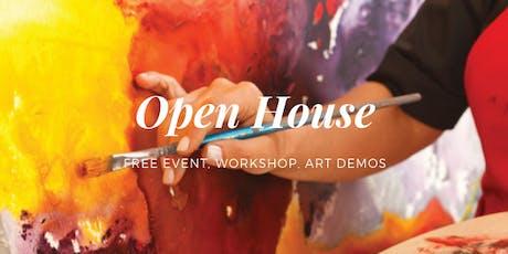 Open House: LucSculpture Art School - Free Event, Workshop, & Art Demos tickets