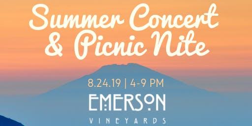 CASA Summer Concert & Picnic Nite