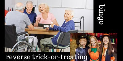 Reverse Trick-or-Treating and Bingo with Seniors