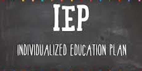 Understanding Your Child's IEP tickets