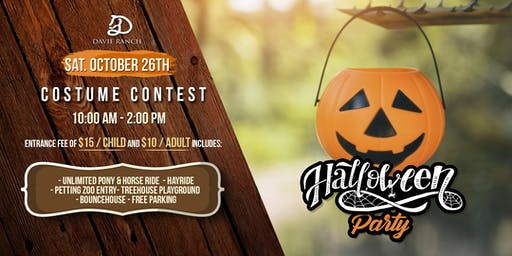 Halloween Party at Davie Ranch