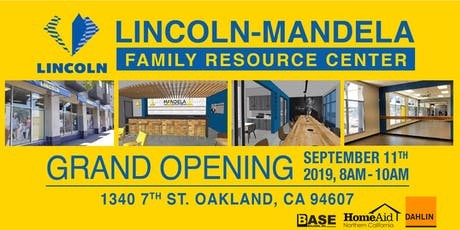 Lincoln - Mandela Family Resource Center Grand Opening tickets