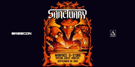 Sanctuary with Warface, D-Sturb, Mrotek tickets