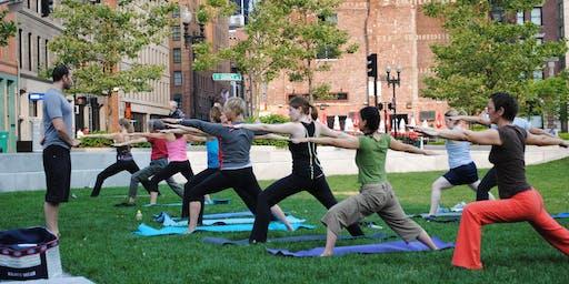 Yoga With a Ranger: Sundays in September