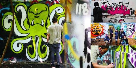 Hands-On Graffiti Art Workshop with Artist CBK tickets